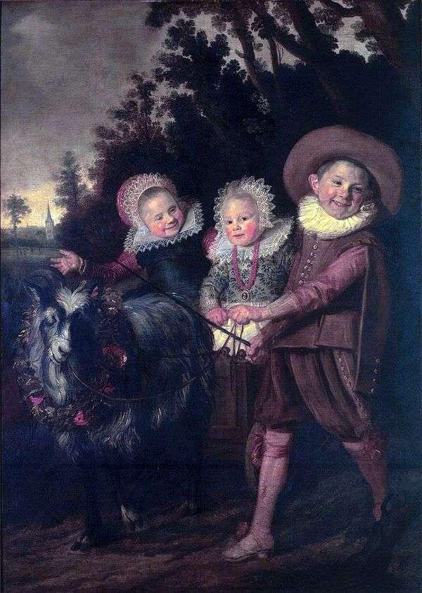子供たちのグループ   フランスハルス