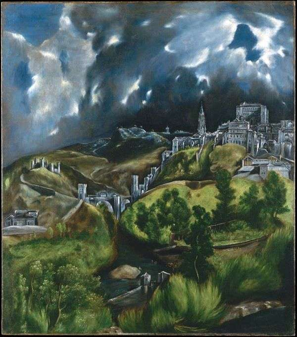 トレド   El Grecoを見る