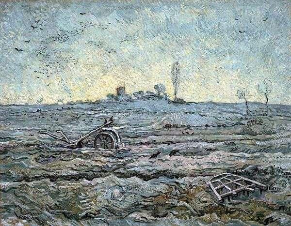 プラウアンドハーロー(ミレー)   Vincent Van Gogh