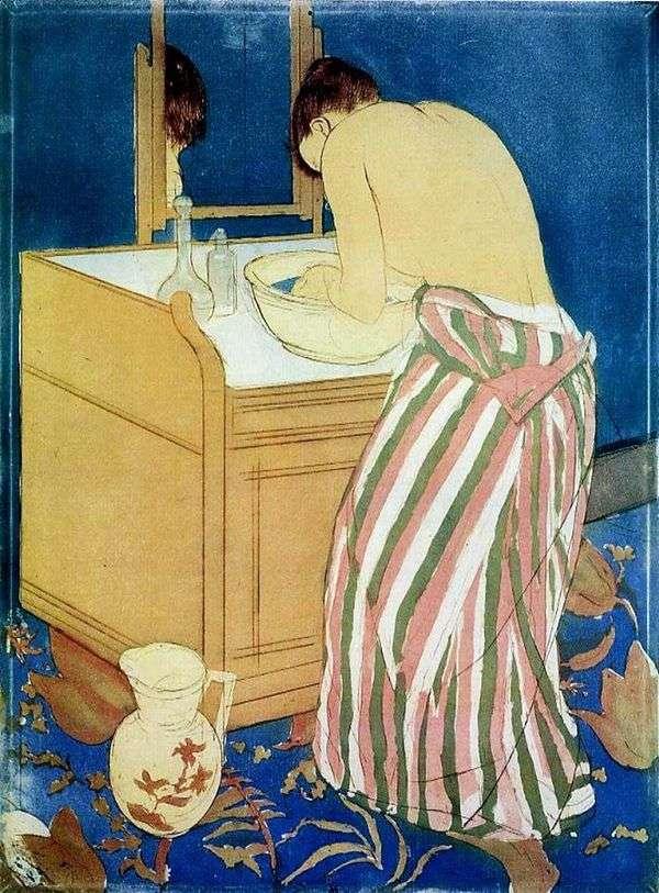 洗濯女   メアリー・キャサット