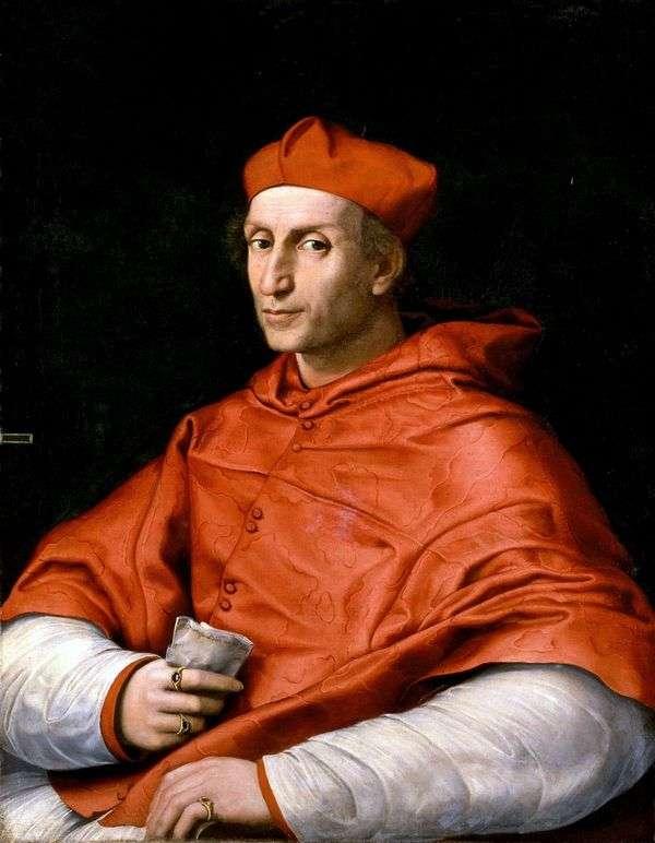 ビビエナ枢機卿   ラファエル・サンティの肖像