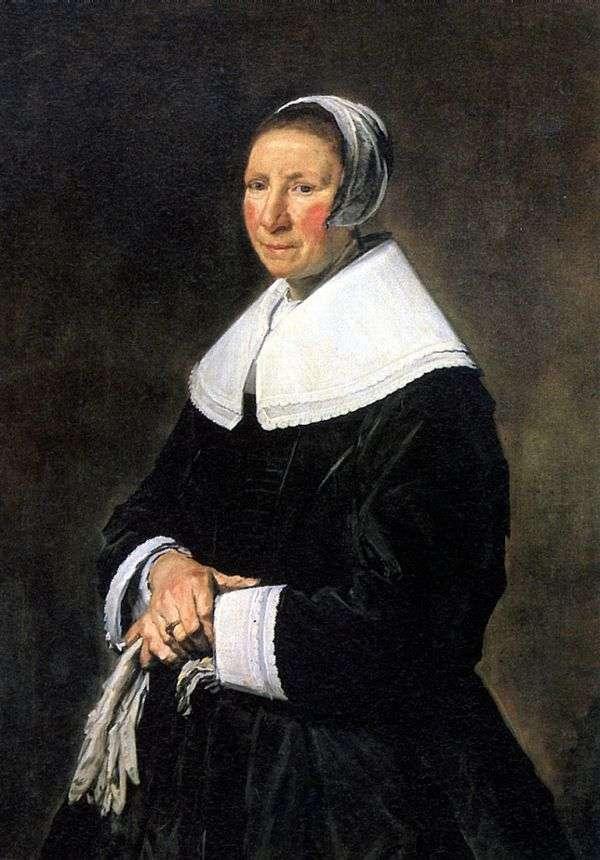 女性の肖像   フランス・ハルス