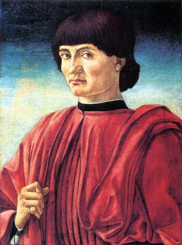 男性の肖像   AndreaCastaño