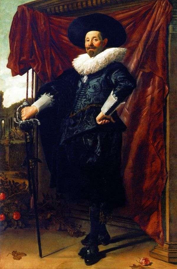 ウィレム・ヴァン・ハイテッセン   フランス・ハルスの肖像