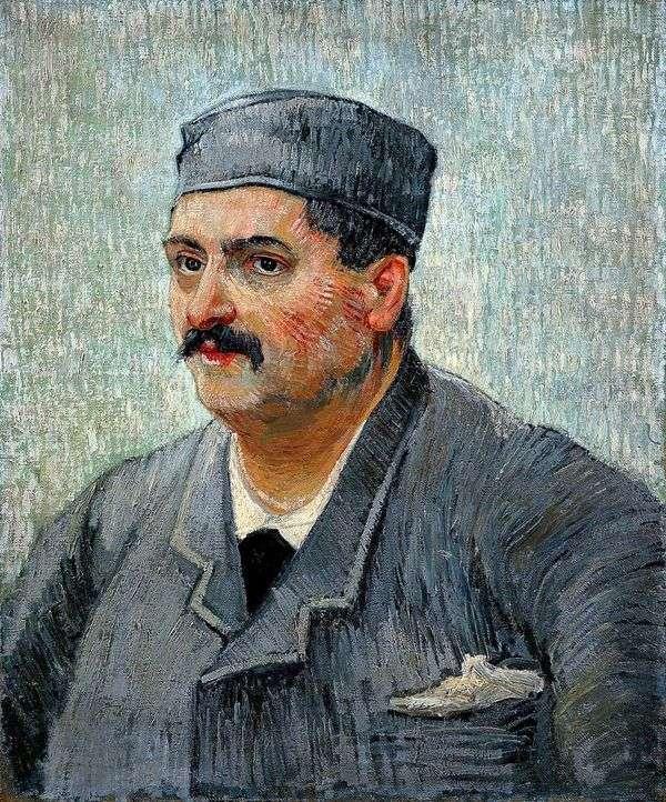 レストランのオーナーの肖像   Vincent Van Gogh