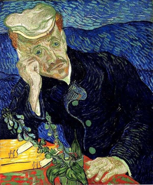 Dr. Gachet II   Vincent Van Goghの肖像