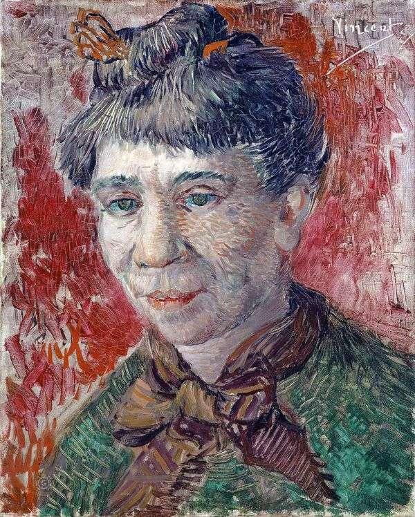 女性の肖像   ヴィンセントヴァンゴッホ