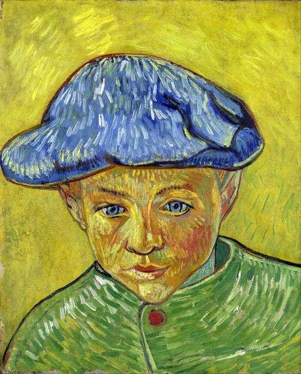 Camille Roulin   Vincent Van Goghの肖像