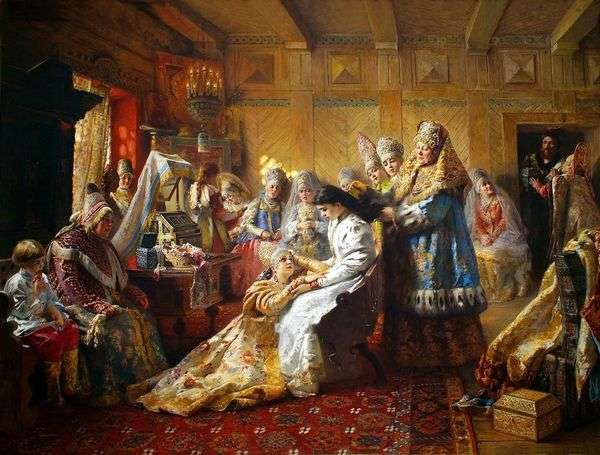 王冠の下   コンスタンティン・マコフスキー