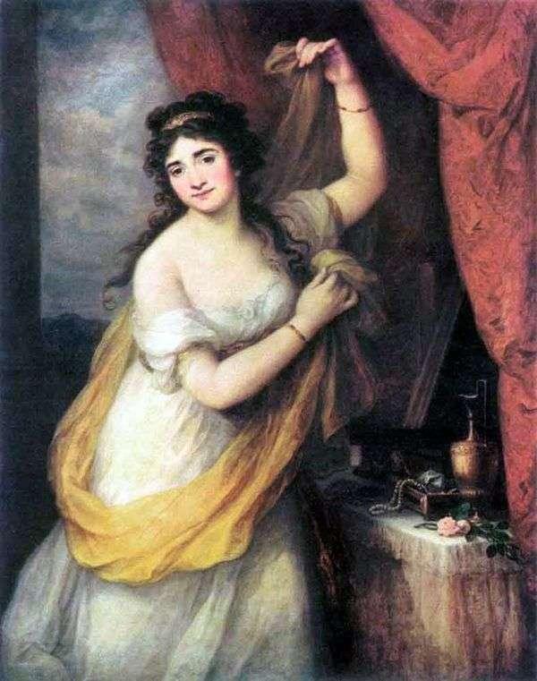Esterhazy王女   アンジェリカ・カウフマン