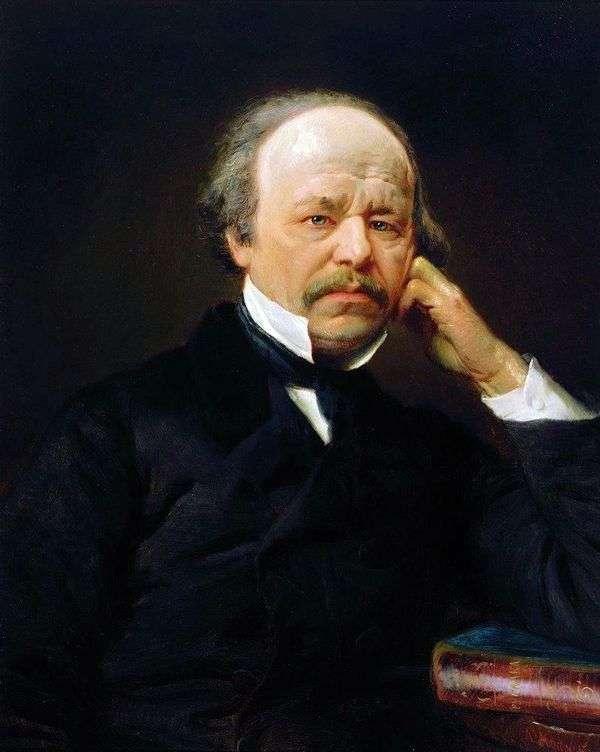 A. S. Dargomyzhsky   コンスタンティン・マコフスキーの肖像