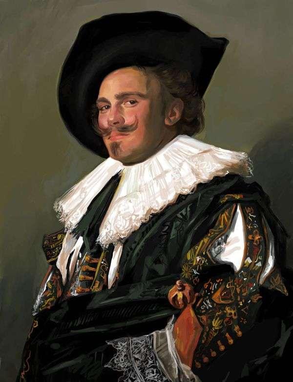 笑顔のシュヴァリエ   フランス・ハルス