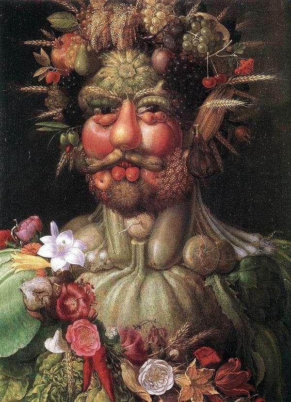 皇帝ルドルフ2世の肖像   ジュゼッペ・アルキンボルディ