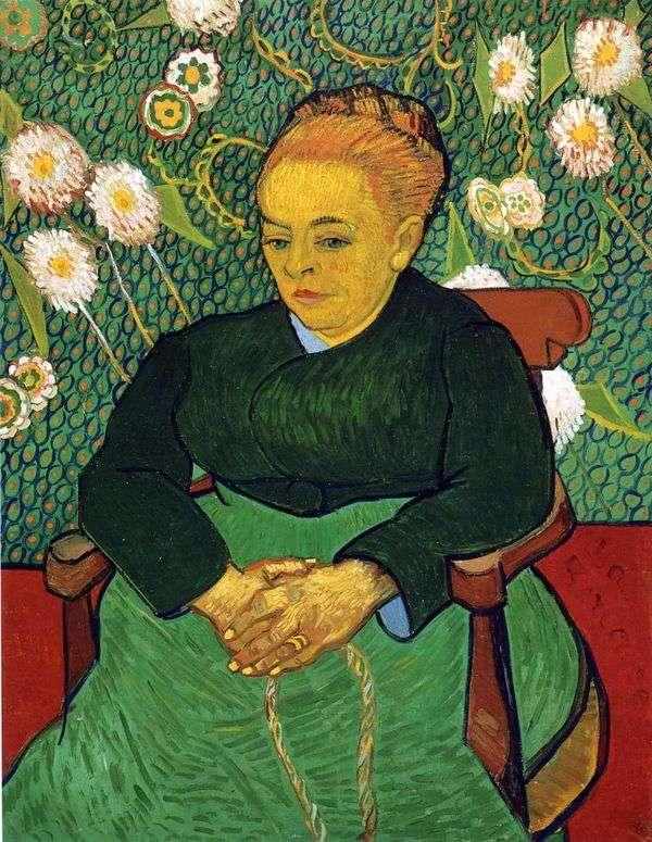 Madame Augustine Roulin   ヴィンセントヴァンゴッホの肖像
