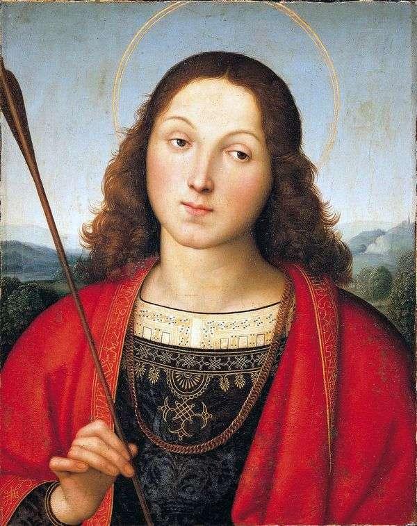 聖セバスチャン   ラファエルサンティ