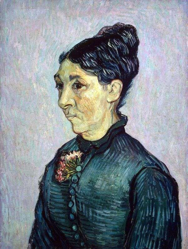 Madame Trabuc   ヴィンセントヴァンゴッホの肖像