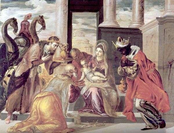 マギの崇拝   El Greco