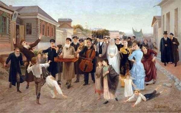 ユダヤ人の結婚式   Isaac Asknazy