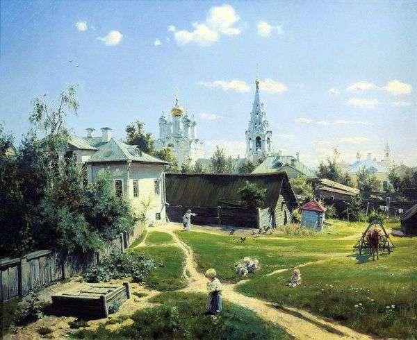 モスクワヤード   ヴァシリーポレノフ