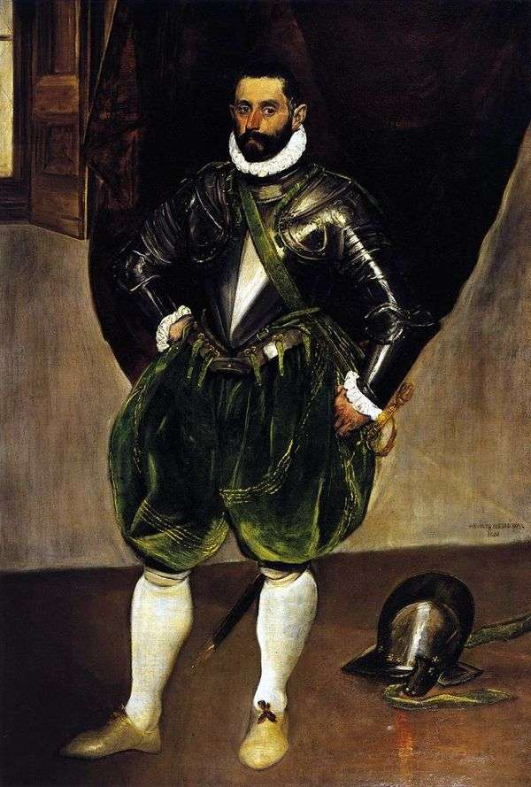 Vincenzo Anastasi   El Grecoの肖像