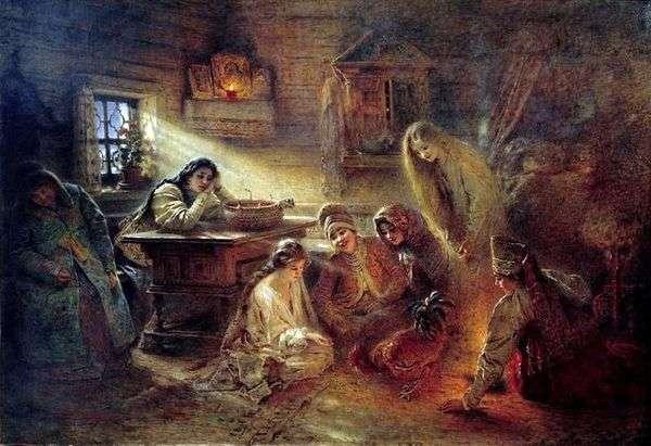 クリスマス占い   Konstantin Makovsky