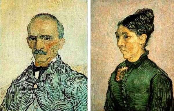 Trabucカップルの肖像   ヴァンセン・ヴァン・ゴッホ