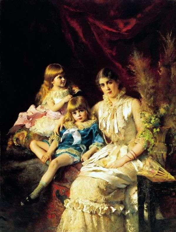 家族の肖像   コンスタンティン・マコフスキー