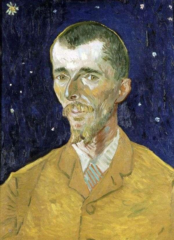 詩人、ユージーン・ボッシュの肖像   Vincent Van Gogh