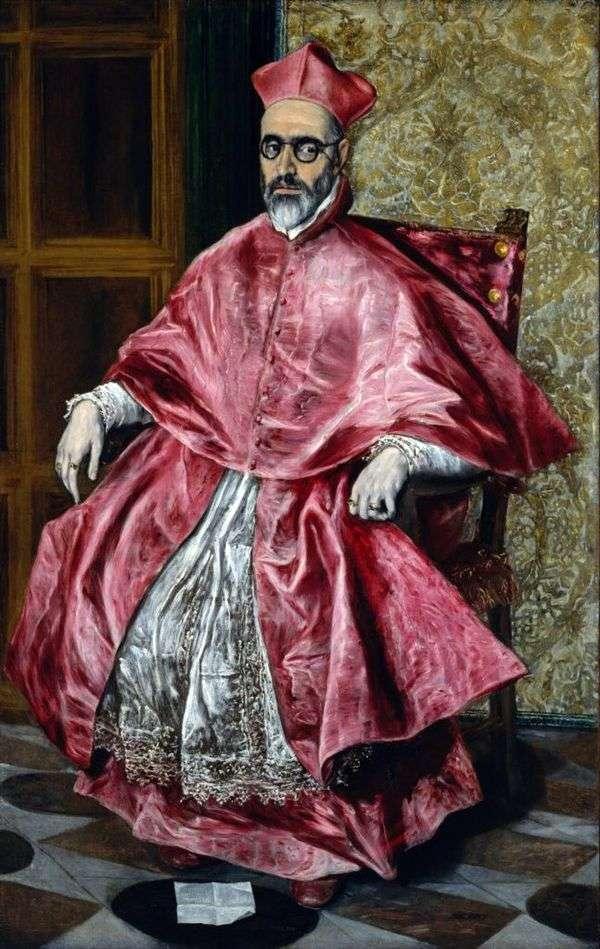 枢機卿の肖像   エル・グレコ