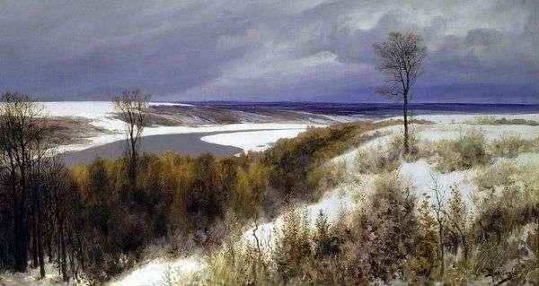 早い雪   ヴァシリー・ポレノフ