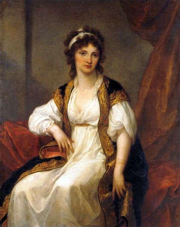若い女性の肖像   アンジェリカ・カウフマン