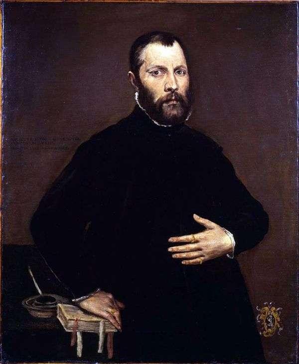 男の肖像   エル・グレコ