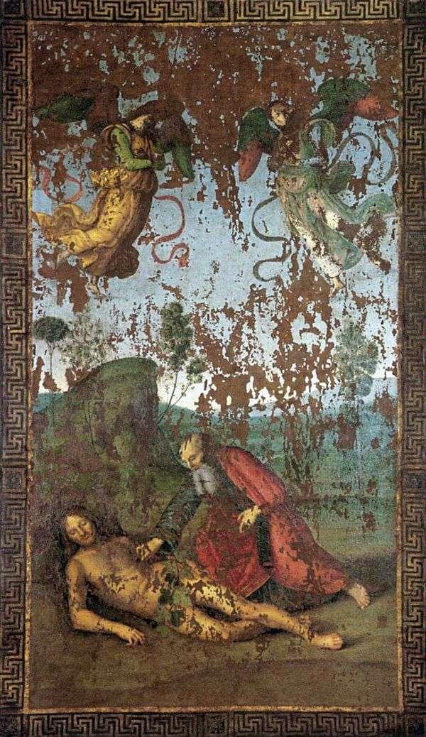 アダムからのイブの創造   ラファエルサンティ