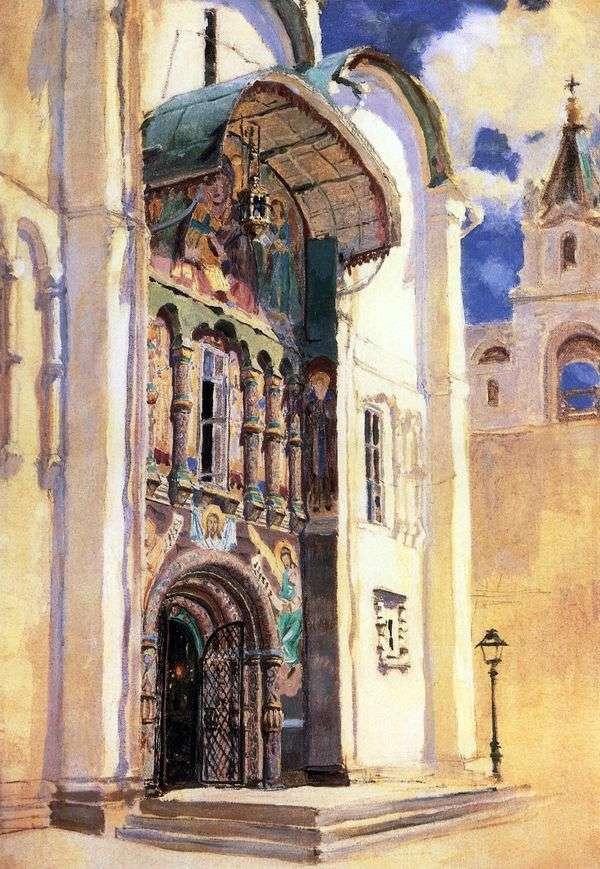 アサンプション大聖堂。南門   ヴァシリー・ポレノフ
