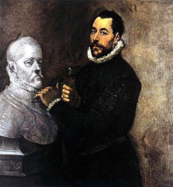 彫刻家の肖像   エル・グレコ