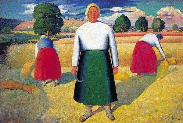 死神   Kazimir Malevich