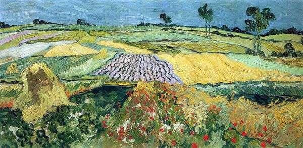 小麦畑、平野オーバー   ヴィンセントヴァンゴッホ