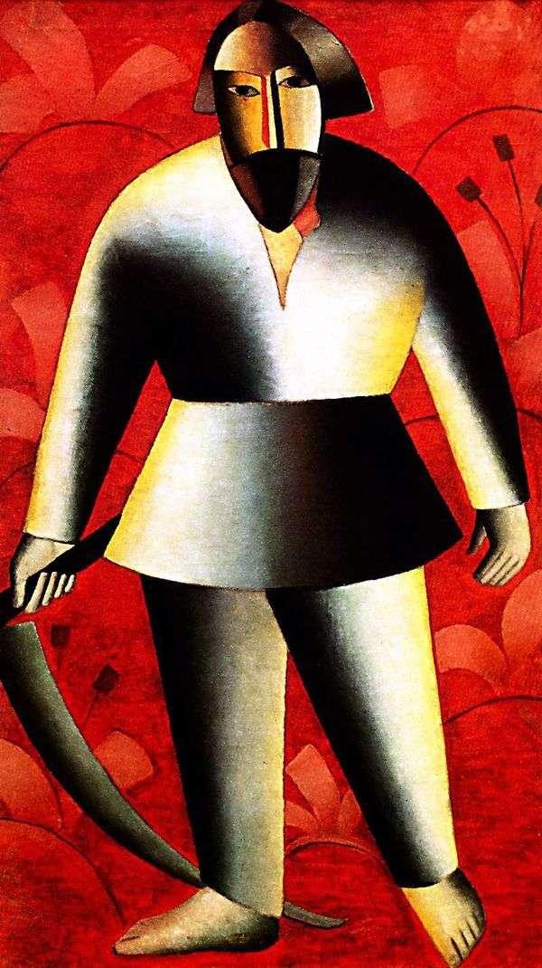 農民(コサル)   Kazimir Malevich