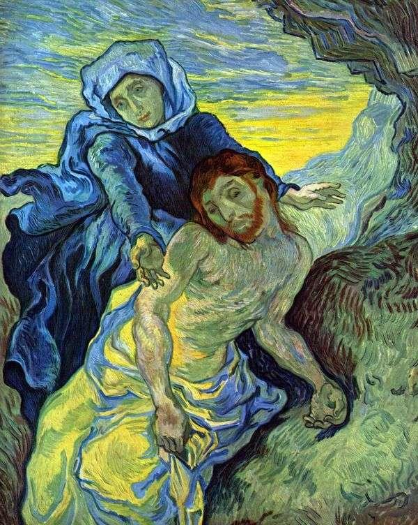 Pieta(by Delacroix)   ヴィンセントヴァンゴッホ