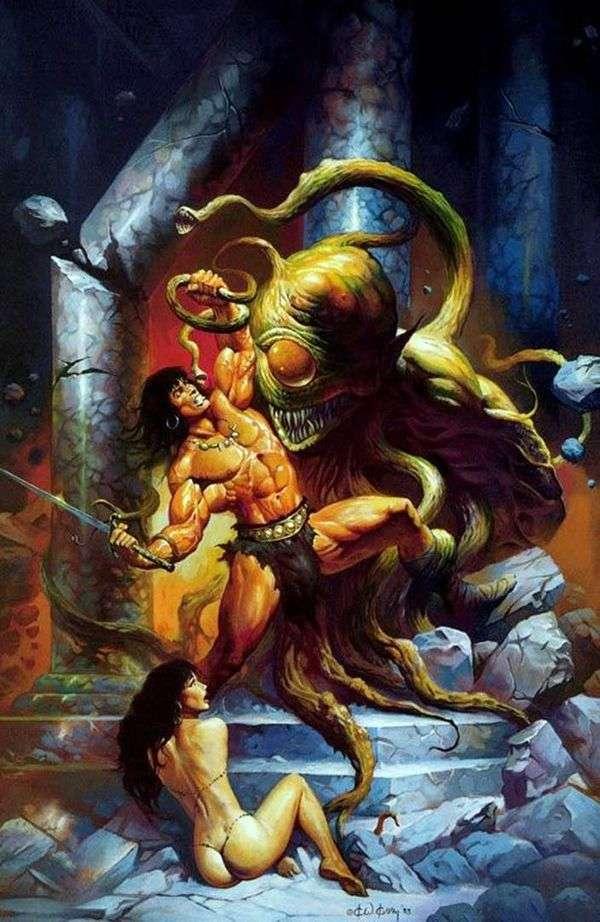 コナンと怪物   ケン・ケリー