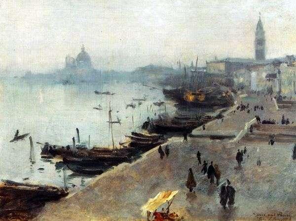 曇りの日   ジョンサージェントのヴェネツィアの眺め
