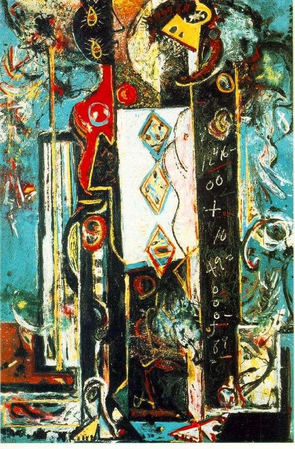 男性と女性   Jackson Pollock