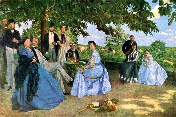 家族の集まり   フレデリックバジル