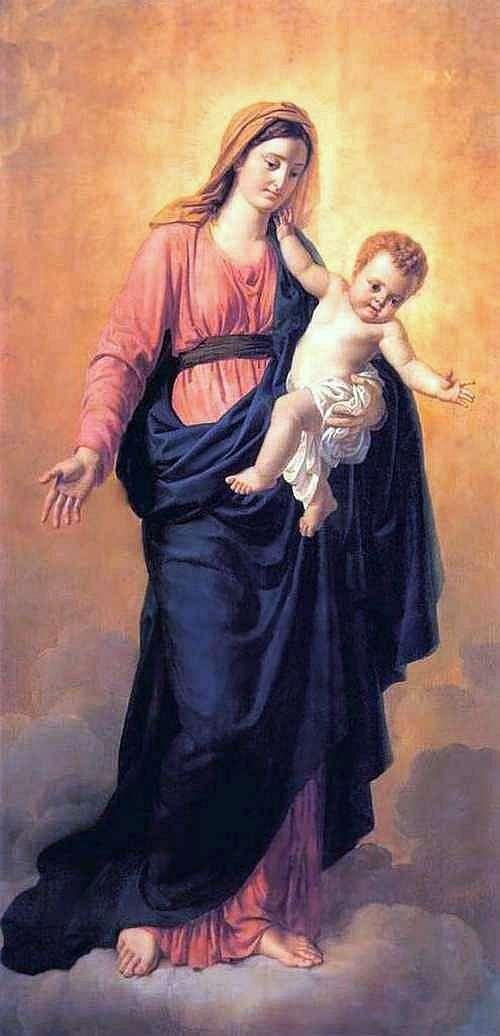 聖母子   Orest Kiprensky
