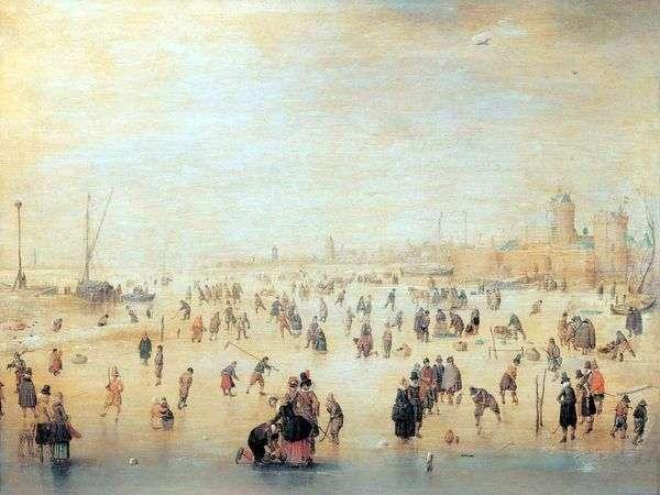 アイススケート   Averkamp Hendrick