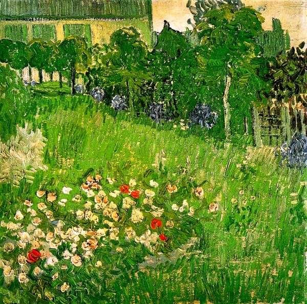 オーヴェルのドービニーの庭   Vincent Van Gogh