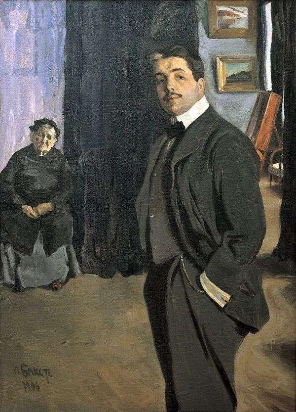 乳母   Leon BakstとDyagilevの肖像画