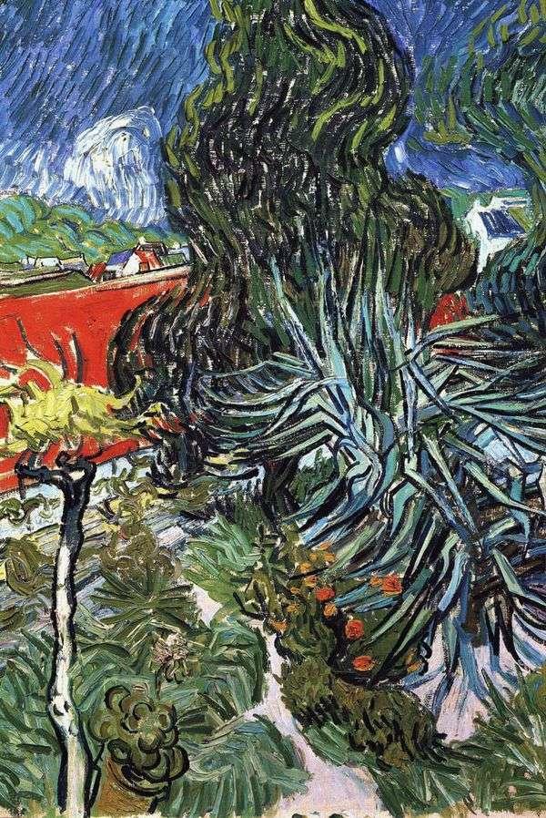 オーヴェルのDr. Gachetの庭   Vincent Van Gogh