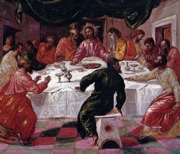 最後の晩餐   El Greco