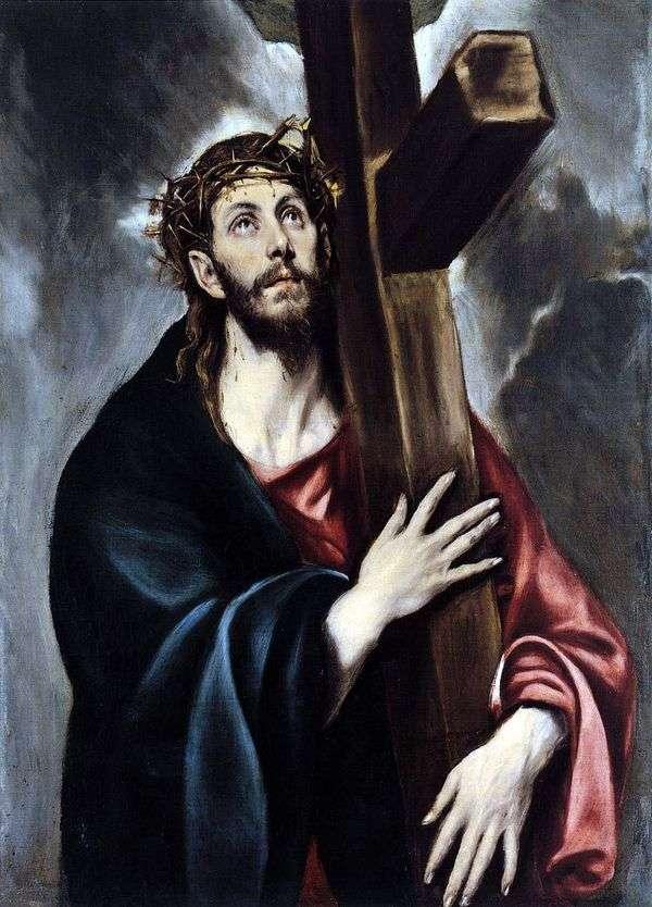 十字架を担うキリスト   エル・グレコ